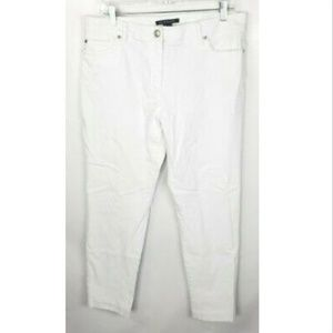 Zac & Rachel Pants 14 Stretch White